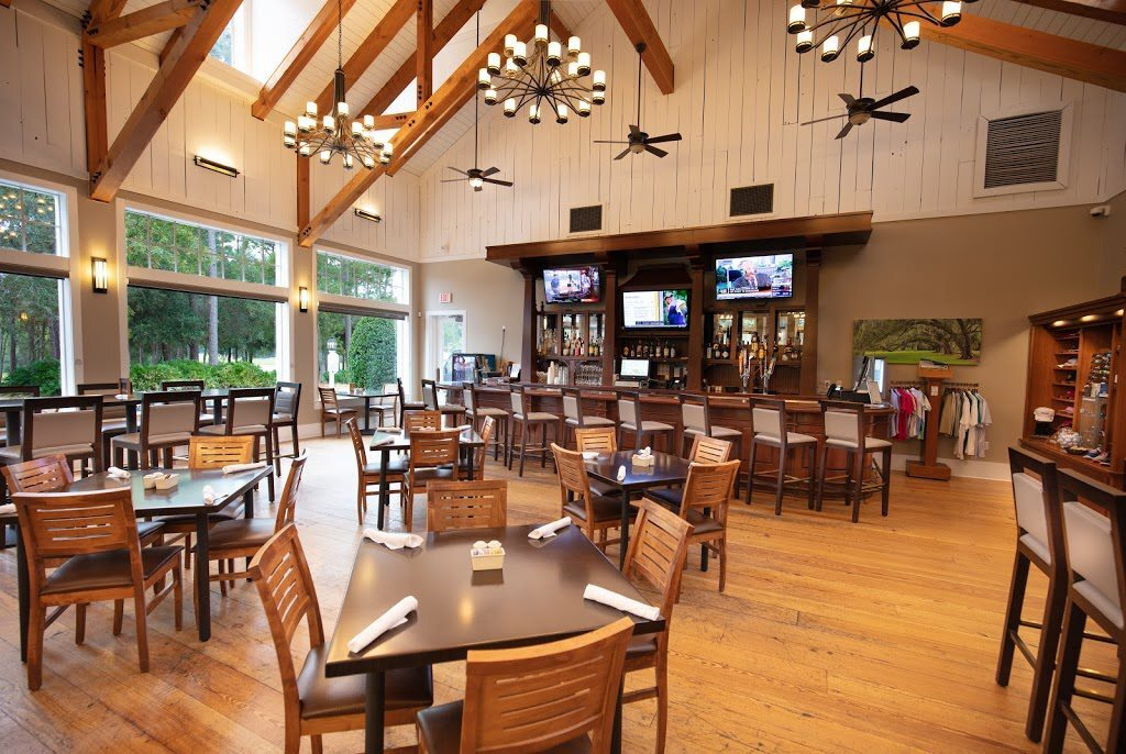 Interior shot of Sparrow's Grille at Victoria Hills Golf Club